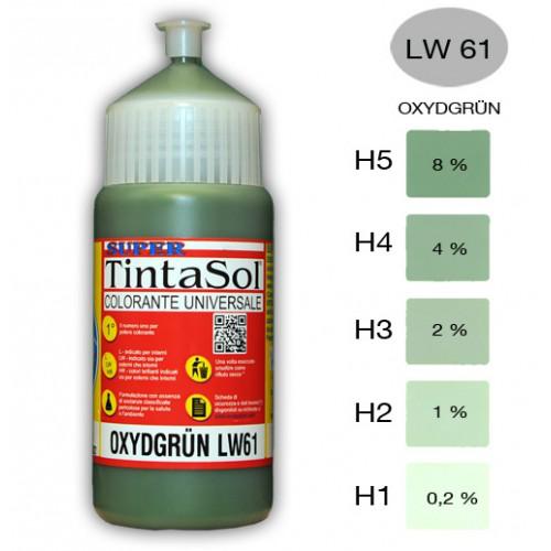 Tintasol LW61 oxide groen kleurconcentraat kalkbestendig