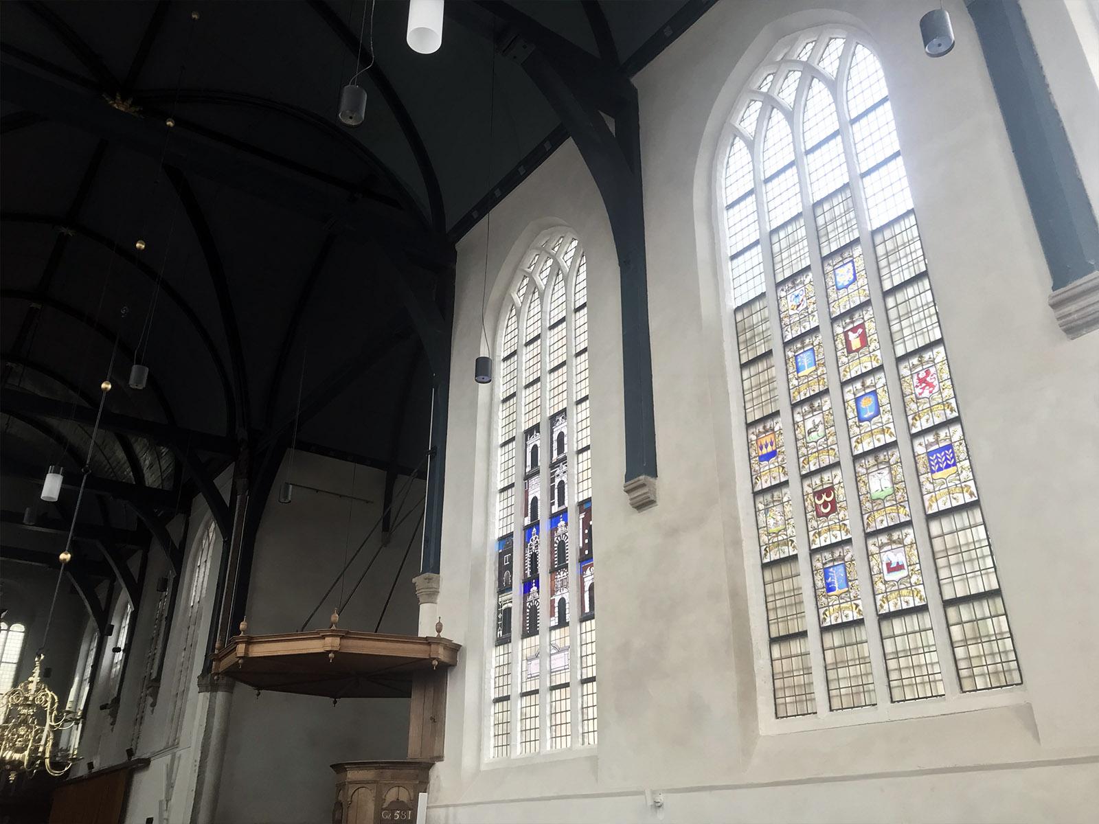 kerk mortel zoutuitbloei